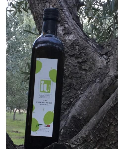 Bottiglia olio extra vergine di oliva Evo 100% italiano  da 0,750 ML