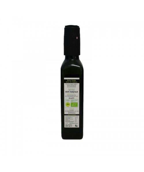 Olio extra vergine d'oliva biologico BIO legria 63037, in bottiglia da 250ml con tappo antirabbocco