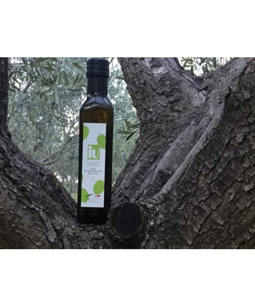 Bottiglia olio extra vergine di oliva Evo 100% italiano  da 0,250 ML